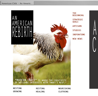 American Chik website