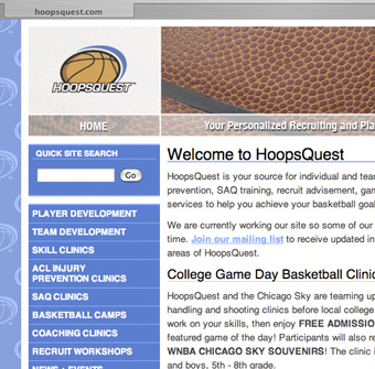 HoopsQuest Web