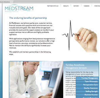 MedStream website