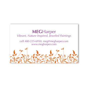 Meg Harper business card